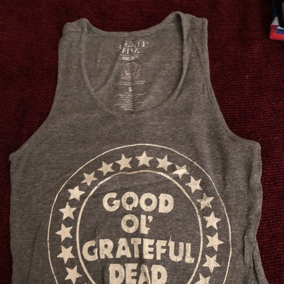 Mighty Fine Tops - Grateful Dead tank top size Small
